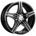 Racing Wheels Classic H-464 6,5x15 5x105 ET 35 Dia 56,6 (BK F/P) - фото 1