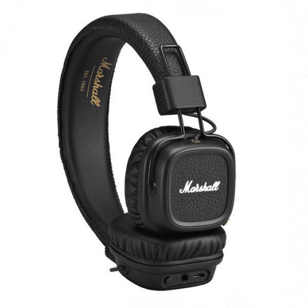 Беспроводные наушники Marshall Major II Bluetooth Black