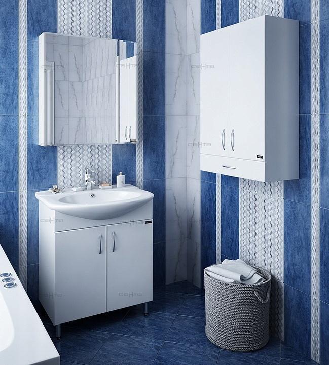 комплект (гарнитур) Мебель для ванной СанТа Лидия 70