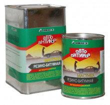 Мастика битумно-каучуковая Автоантикор 1000мл Анлес 4601567002405