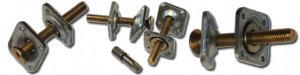 Механический соед. Barger B6 (5-40 мм) 150шт (до 1100мм) винтовое соединение