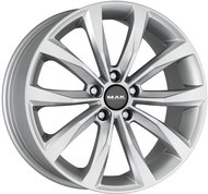 Колесные литые диски MAK WOLF Silver 7.5x17 5x112 ET47 D57.1 Silver (F7570WFSI47VW3X) - фото 1