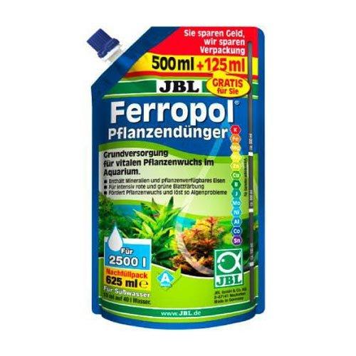 Удобрение JBL Ferropol жидкое комплексное удобрение с микроэлементами в экономичной упаковке 625мл