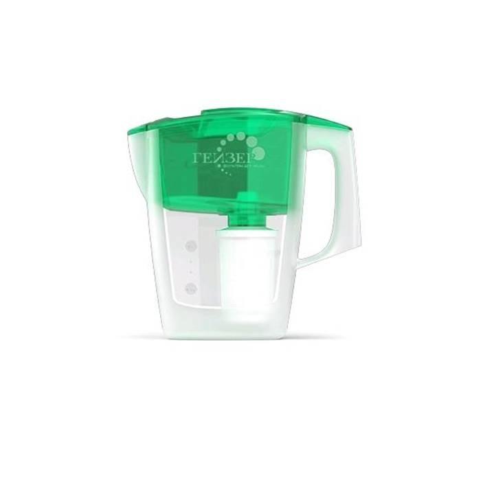 """Фильтр для воды Гейзер """"Мини"""" зелёный"""