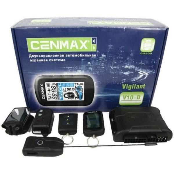 Автосигнализация Cenmax Vigilant V-10D с обратной связью брелок с ЖК дисплеем