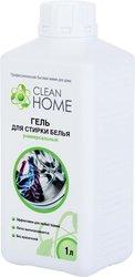 Средства для стирки и от накипи Clean home Cleanhome гель д/стирки универс.1000мл 379