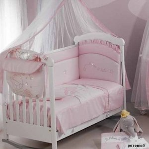 Покрывало Roman Baby Polvere Di Stelle Pink