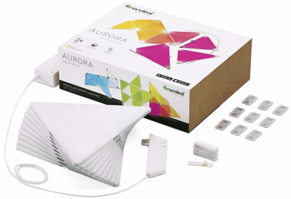 Комплект умных ламп Nanoleaf Aurora Smarter Kit 9 Panels (White)
