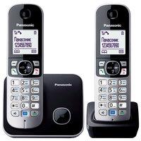 Радиотелефон Panasonic KX-TG6812RUB чёрный