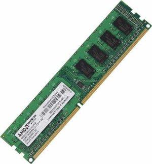 Модуль памяти AMD R532G1601U1S-UGO DIMM DDR3 240-pin 2048Мб PC3-12800 1600МГц CL11 1.5В