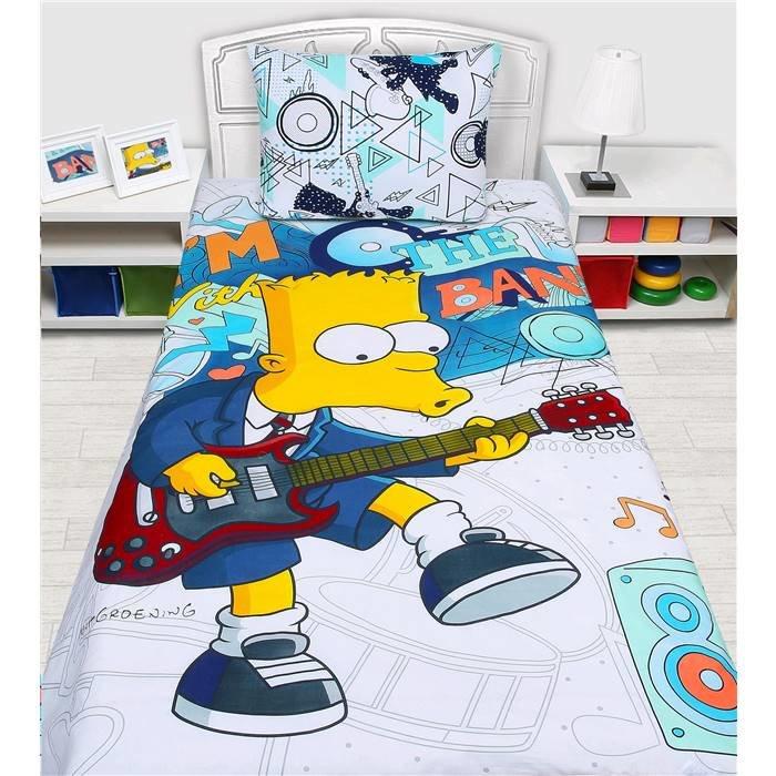 Комплект детского постельного белья (1,5 спальное) Мона Лиза (Simpsons) н(1)50*70(522021)