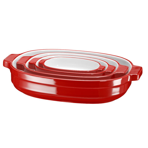 Форма для выпекания (керамика) KitchenAid KBLR04NSER
