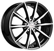 Racing Wheels H-536 6.5x15 4x98 ET 35 Dia 58.6 BK F/P - фото 1