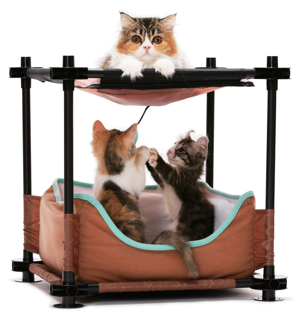 "Kitty City Лежак для кошек ""Барские покои"", 44x45x45 см (1,38 кг)"