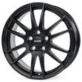 Колесные литые диски Alutec MONSTR Black 6.5x17 4x98 ET40 D58.1 Racing Black (MN65740F44-5) - фото 1