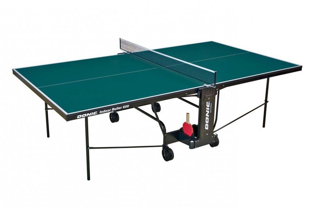 Теннисный стол Donic Indoor Roller 600 - зеленый