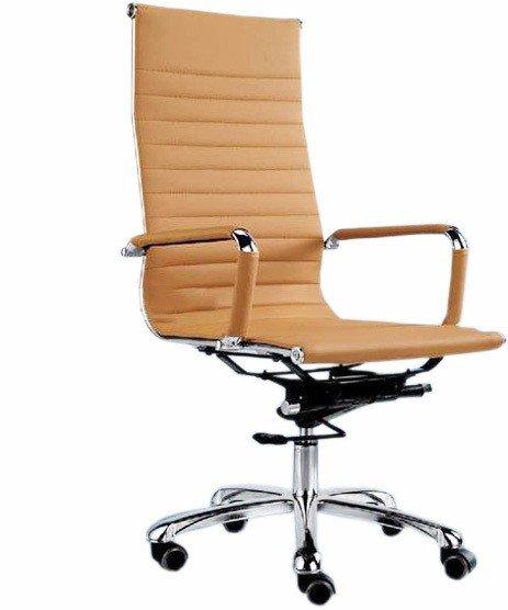 Офисное кресло для персонала бежевое Eames RT-03Q