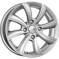 Колесные литые диски КиК (K&K) Бриз 5.5x14 4x100 ET35 D67.1 Серый тёмный глянцевый (72558) - фото 1