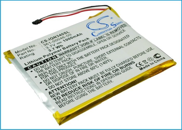 Аккумулятор для Garmin Nuvi 3450, 3490, 3550, 3750 1000mah CameronSino