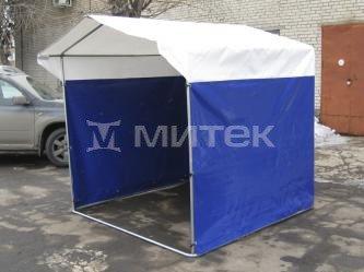"""Палатка торговая """"Домик"""" 2,5х2 (каркас из трубы 25 мм) ПВХ"""