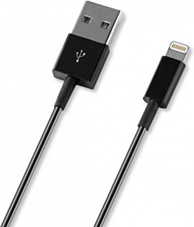 Кабели и разъемы DEPPA USB-8pin 1.2м Black