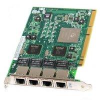 Контроллер, адаптер 73P5219 Сетевая Карта IBM Pro/1000 GT Quad Port Server Adapter i82546GB 4x1Гбит/сек 4xRJ45 PCI-X