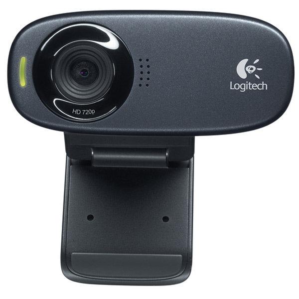 Web-камера Logitech C310 Black (960-000638)