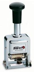 Нумератор автоматический KW-TRIO 20700, 7 разрядов, шрифт 4.2 мм, прямоугольный