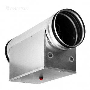 Канальные нагреватели электрические для круглых каналов EHC 160-2.4/1 Аэроблок
