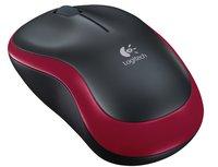 Беспроводная мышь Logitech Wireless Mouse M185 910-002240 (Black/Red)