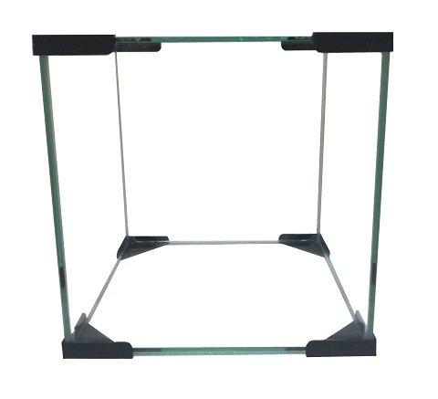 Аквариум Куб 30 литров черный (1 шт)