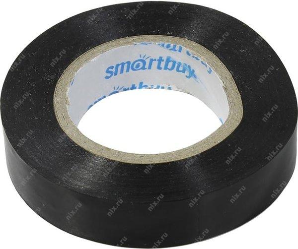 Изолента SmartBuy Изолента ПВХ чёрная 15x0.13 мм, 20 м