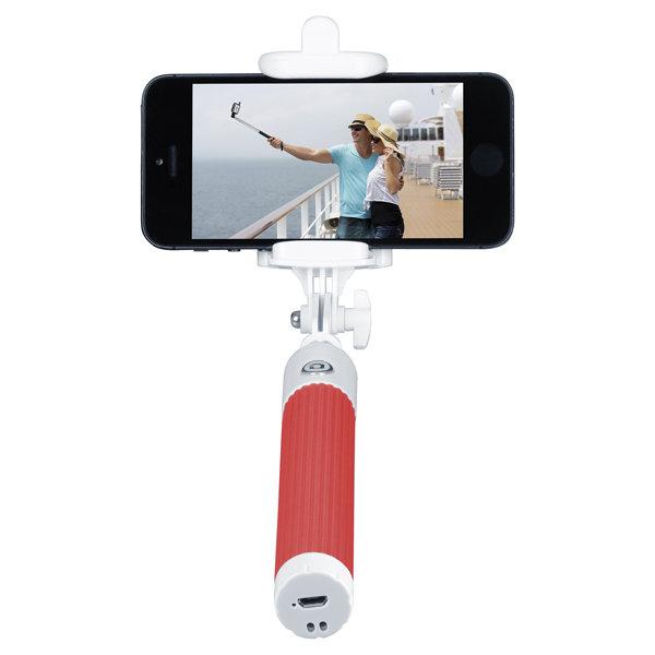 Монопод для смартфона InterStep MP-115B Red (IS-HD-MPSP115RD-BT0B201)