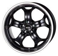 Колесные диски Alutec BOOST 9x20 5x114.3 ET35 D76.1 Diamond Black with Stainless Steel Lip (BO90035C62-4) - фото 1