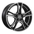 Диски OZ Racing Adrenalina 8x17 5x114,3 ET45 ЦО75.0 цвет MATT BLACK DIAMOND CUT - фото 1