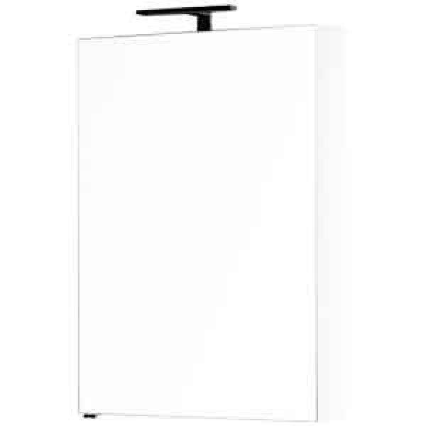 Зеркальный шкаф Aquanet Алвита 70, 1 распашная дверца, белый (184038)
