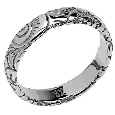 Кольцо коллекции Totem Fox/Лиса из серебра