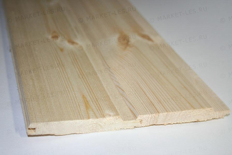 Вагонка евро деревянная 12,5х96 мм сорт AВ