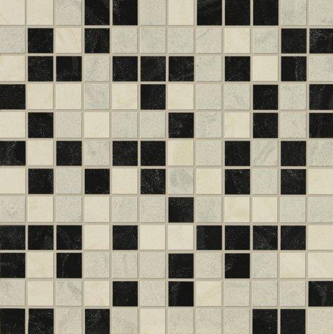 Мозаика Italon Престиж В / Prestige Mosaico Mix B Микс Полированная 30х30 (м?)