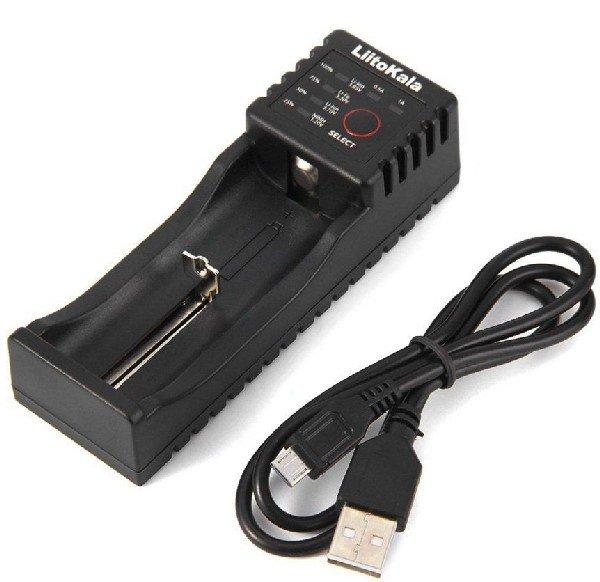 Зарядное устройство-комбайн Liitokala Lii-100 USB-Powerbank