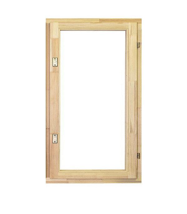 Окно деревянное РадДоз 860х570 мм 1 створка