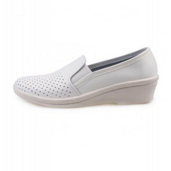 Туфли женские белые (нат.кожа)