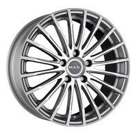 Колесные литые диски MAK FATALE Silver 8x18 5x120 ET40 D72.6 Серебристый (F8080FASI40IIB)