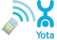 Интернет SIM-карта (сим-карта) YOTA для планшета