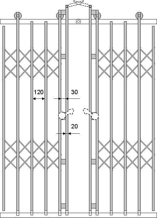 производство металлических решеток на двери лифта