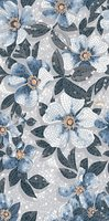 KERAMA MARAZZI SG591002R Розелла синий декорированный лаппатированный Ковер