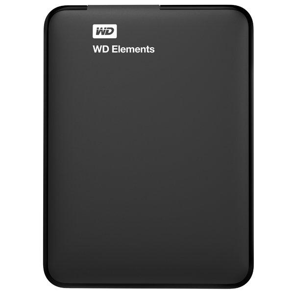 "Внешний жесткий диск 2.5"" WD Elements Portable 500GB (WDBUZG5000ABK-EESN)"
