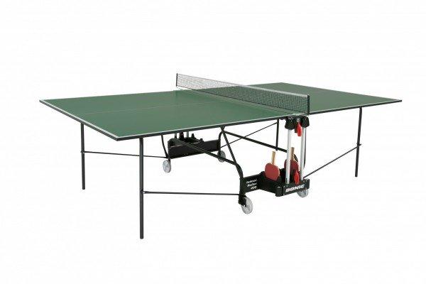 Теннисный стол для помещений DONIC INDOOR ROLLER 400 зеленый