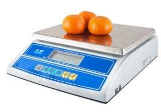 Весы торговые настольные M-ER 326AFL-15.2 LCD с АКБ без стойки для фасовки товара