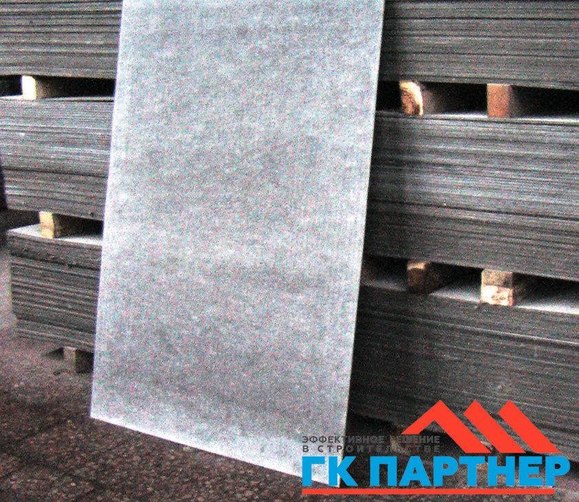 Асбестоцементный ( хризотилцементные ) плоский лист а/ц (шифер плоский непрессованный) толщина 8 мм